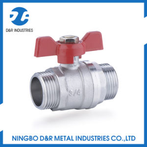 Full Bore Male Threas Brass Ball Valve pictures & photos