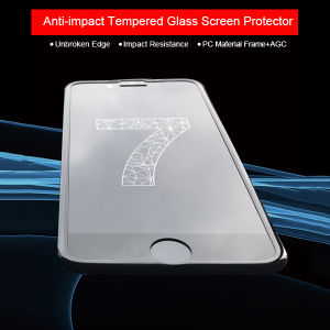 Phone Accessories Premium Protection Case-Friendly Shatterproof Glass Screen Protector for iPhone 7 pictures & photos