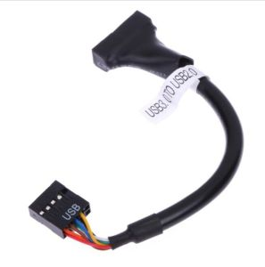 17cm Mainboard Motherboard USB 3.0 20 Pin Male to USB 2.0 9 Pin Female Housing Cable Extension Adapter Cable pictures & photos