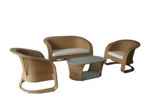 Outdoor Furniture PE Rattan Aluminum Chair