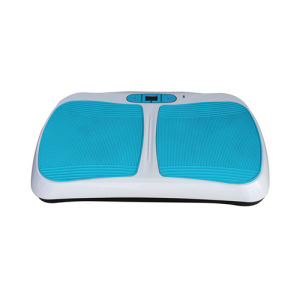 Compact Crazy Fit Massage Foot Vibration Plate Machine pictures & photos