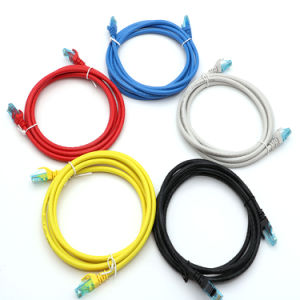 SFTP Cat 6 Patch Cable /Patch Cord PVC Blue pictures & photos