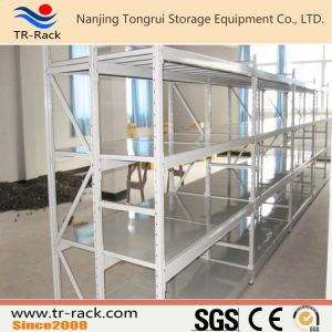 Steel Long Span Racking with Shelving pictures & photos