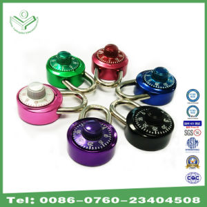 Combination Dial Padlock with Keyless Aluminum Anodizing (1501) pictures & photos