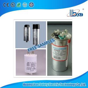Motor Running and Starting Capacitor, 16UF, 25UF, 30UF, 450VAC pictures & photos