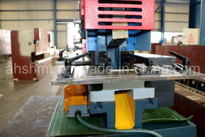Hydraulic Conbined Ironworker, Universal Ironworker with Punch and Cutting Function pictures & photos