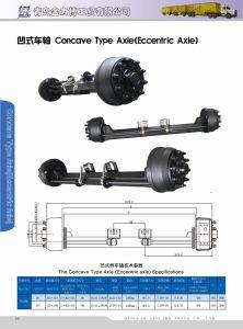 Trailer Axle Concave Type Axle Eccentric Axle pictures & photos