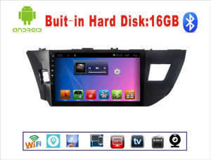 Android System Car DVD GPS Navigation for Toyota Levin 10.1 Inch Touch Screen with Bluetooth/MP3/WiFi pictures & photos