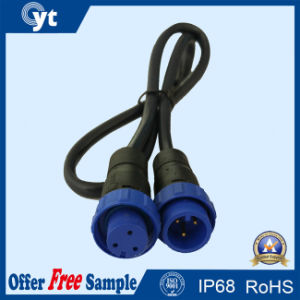 Electronic High Level Water-Resist IP67 3 Pin Connectors pictures & photos