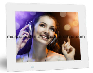 9.7′′ Remote Control USB SD Card Digital Picture Frame (HB-DPF9702) pictures & photos