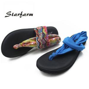 2017 Starfarm Women′s Yoga Sling 2 Flip Flop Flat Sandals pictures & photos
