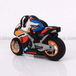 PVC Motorcycle Cool Promotion Gift USB Flash Drive (UL-PVC032) pictures & photos