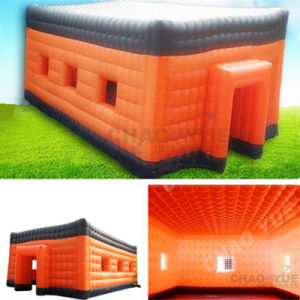 Outdoor Inflatable Event Cube Camping Tent with Ce Blower pictures & photos
