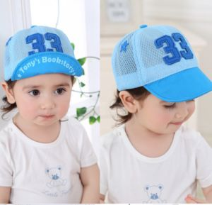 Wholesale New Model Embroidery Fashion Baby Kids Cap pictures & photos