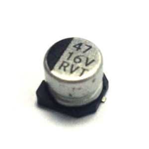 10V 100UF Standard SMD Aluminum Electrolytic Capacitor (TMCE24) pictures & photos