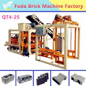 Shengya Automatic Concrete Hollow Brick Block Making Machines Qtj4-26 pictures & photos