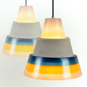 Nordic Retro Industrial Stlyle Cement Resin Chandeliers Decorative Hanging Peandant Light pictures & photos