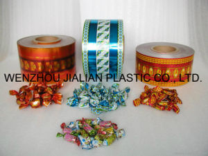 PVC Gold/Silver Film /Metalized PVC Film for Garland Decorations pictures & photos