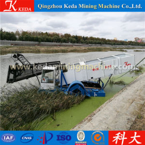 Keda Made Automatic River Reed Harvester pictures & photos