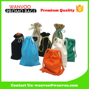 Custom Promotional Smalll Nonwoven Drawstring Bag for Gift Kids and Wine pictures & photos