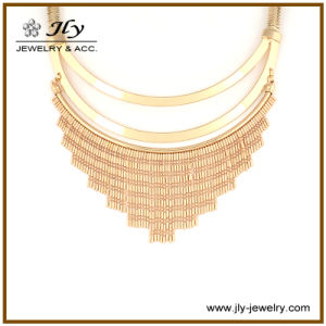 Wholesale Brass Fitting Brass Chain Gold Plating Fashion Jewelry Necklace pictures & photos
