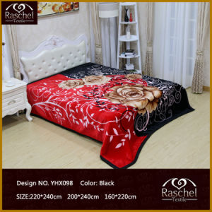 Mink Raschel Throw Blanket of 100% Polyester High Korean Super Soft Quality