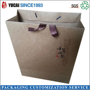 Craft Paper Bag Paper Shopping Bag with Cotton Rope pictures & photos