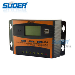 Suoer 48V 40A Intelligent PWM Solar Charge Controller (ST-C4840) pictures & photos
