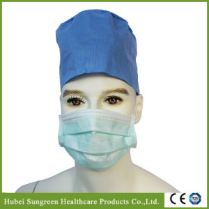 Surgical Disposable Face Mask with Ties pictures & photos