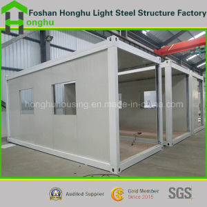 Flat Pack Container Mobile Home for Prefabricated House Temporary Building pictures & photos