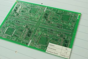 OSP Hal HASL Lf Enig Aluminum Rigid Multilayer PCB High Tg Impedance Rogers PCB Double Layer PCB pictures & photos