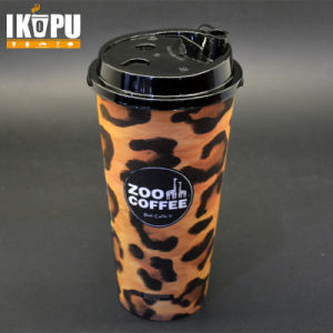 Disposable Hot Coffee Paper Cup with PS Lid pictures & photos