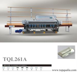 9 Motors Glass Straight Line Beveling Machine pictures & photos