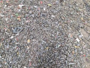 Psx900 Scrap Steel Shredder Line pictures & photos