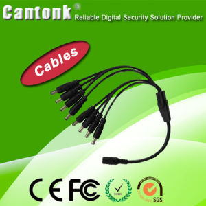 CCTV Camera Accessory 8CH Power Cable Splitter (CK-8H) pictures & photos