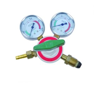 Pair of Oxygen and Acetylene Single Stage 2 Gauge Regulator for Gas Cylinders pictures & photos
