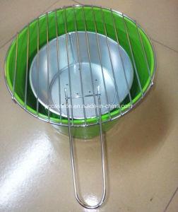 Indoor or Outdoor Galvanized Metal Charcoal BBQ Grill Bucket pictures & photos