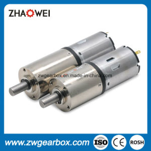 DC 12V 32mm Low Speed Reducing Motor Gearbox pictures & photos