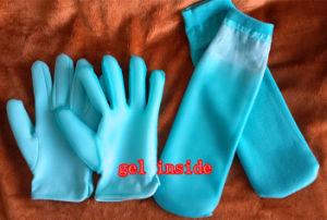 SPA Gel Moisturising Skin Care Beauty Gloves Socks pictures & photos