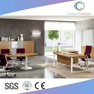 Hot Selling Fashion Melamine Office Metal Executive Desk pictures & photos