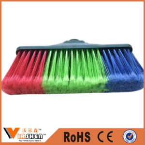 Soft Plastic Indoor Sweeping Cleaning Brush Broom pictures & photos