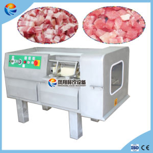 Chinese Super Automatic Large Frozen Cooked Beef Ham Meat Cube Cutter pictures & photos
