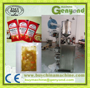 Fruit Mango Paste Plastic Bag Packing Machine pictures & photos