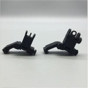 Front and Rear Flip up 45 Degree Offset Rapid Transition Backup Iron Sight pictures & photos