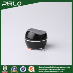 10g Black Cosmetic Cream Jar with Lid Acrylic Material Plastic Skin Care Cream Packing Container Plastic Jars pictures & photos