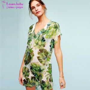2017 Fashion New Chiffon Beach Dress L384931 pictures & photos
