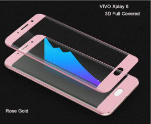3D Full Covered Anti-Bubble Tempered Glass Protective Screen Film for Vivo Xplay 6 with Wholesale Price pictures & photos