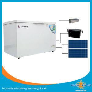 DC Compressor Refrigerator with DC 12/24V, AC Adaptor (100-240V) Can Be Powered by Solar pictures & photos
