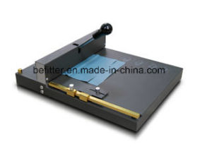 SM-460 manual ceasing & perforating machine/Office Manual Paper Scoring machine pictures & photos