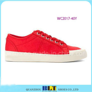 Europe Fashion PU Leather Shoes for Women pictures & photos